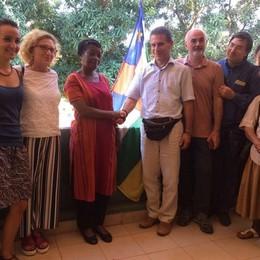 Limido, gruppo di amici  in  Centrafrica  Per costruire un nuovo ambulatorio