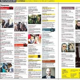 Il Noir s'addice a Como  Tutto il Festival in 8 pagine
