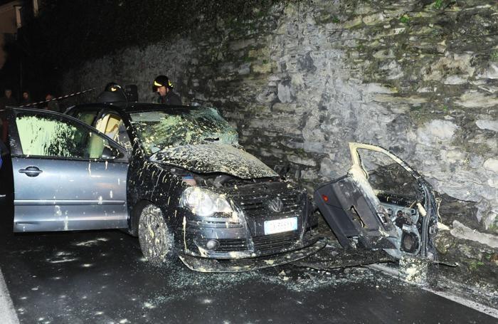 Blevio incidente mortale in via Caronti