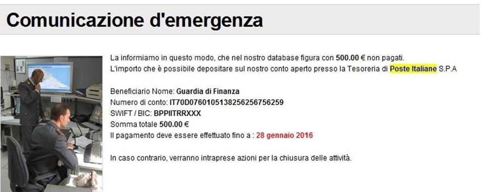 L'email che svuota il conto in banca  Ondata di frodi anche a Como