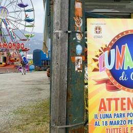 Luna park a Muggiò, è tutto pronto Ma l'apertura è rinviata a venerdì