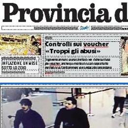 Sciopero dei poligrafici  Ma La Provincia di Lecco  non vi abbandona   Oggi sul nostro sito  il quotidiano gratis in digitale