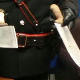 Rapinava armato di machete   Arrestato un uomo di 26 anni