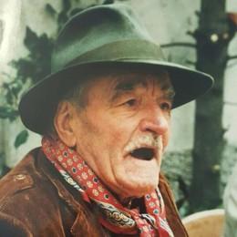 Addio al Giuanon Cadenazzi, 94 anni  De Sfroos: «Grande cow boy lariano»
