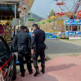 Carabinieri al Luna Park  Multe e controlli