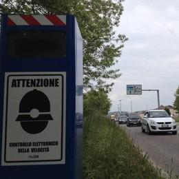 Autovelox a Cantù, si cambia  «Alziamo il limite lungo corso Europa»