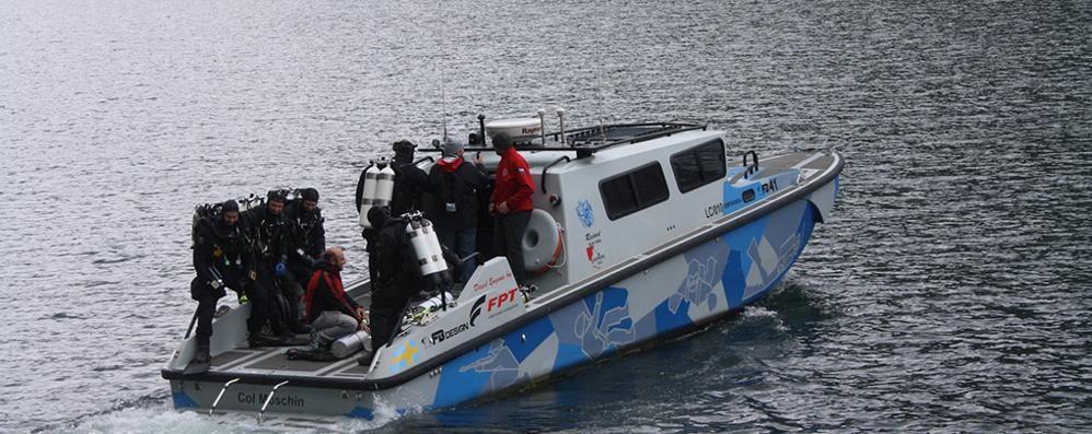 Record mondiale di immersione  Bernasconi ci proverà a Brienno