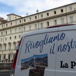 #CARTOLINE A ROMA Paratie, il Governo si attiva Ai tecnici: serve una via d'uscita