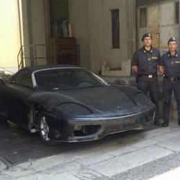 P. Chiasso, scoperta e sequestrata  una falsa Ferrari 360 Modena    Il video della Gdf