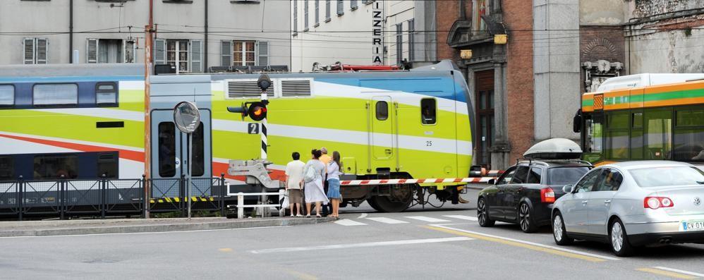 Como:«Qui treni sicuri  Anche nei tratti con binario unico»