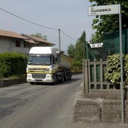 «I camion in via Guanzasca»  Cassina insorge: «Idea folle»