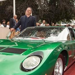 A Olgiate il Lamborghini day  Un libro e auto da sogno