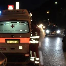 Frontale sulla Regina  Tre feriti a Gera: uno grave