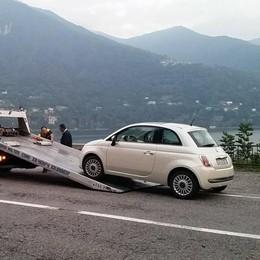 Ritrova l'auto rubata 2 mesi prima  Era abbandonata lungo la Regina