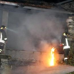 Livo, due fienili   incendiati in sei giorni