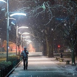 Tutta la provincia sotto la neve Strade gelate, autostrada in tilt