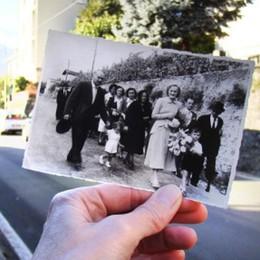 Gravedona, torna dagli Usa   per la foto dei genitori