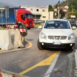 Che code sul viadotto dei Lavatoi Ma per i vigili «le barriere vanno bene»