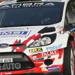 Il Rally di Como ad Albertini  Spettacolo e folla sulle prove