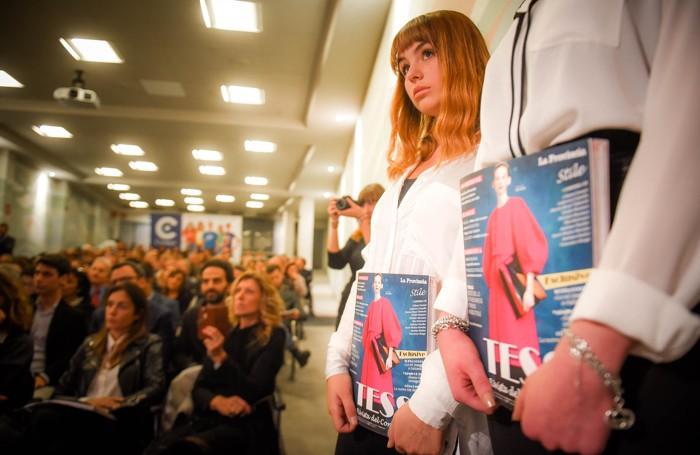 Como istituto Casnati presentazione del nuovo numero della rivista Tess,
