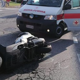 Incidente a Tavernola  Traffico rallentato