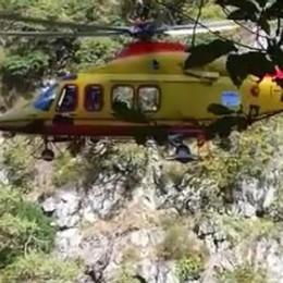 Donna si perde in montagna Salvata dal soccorso alpino