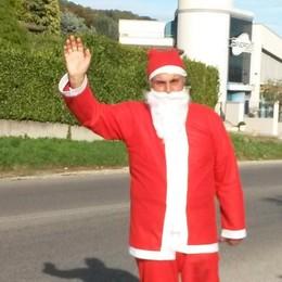 Mancano 80 giorni a Natale  E Santa Claus è già in strada