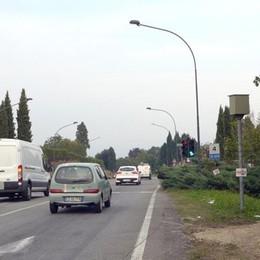 Semaforo di  Casiglio  Dal 15 ottobre tornano le multe