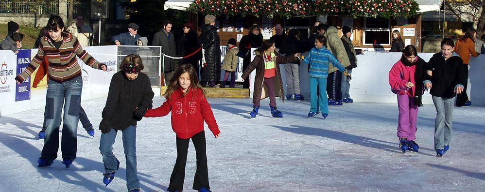 Erba, torna la pista del ghiaccio  Sarà l'attrattiva di Natale
