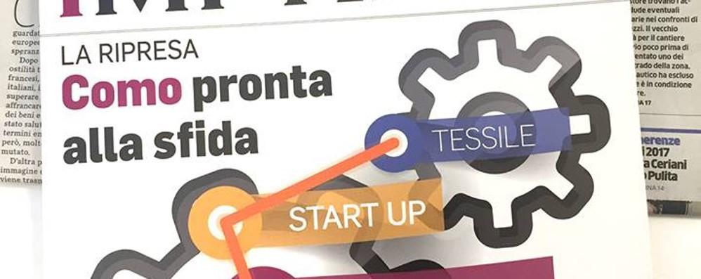 """In edicola c'è """"Imprese""""  Le top aziende  della provincia di Como"""
