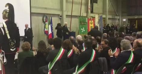 L'intervento del presidente Mattarella
