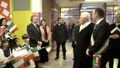La visita di Mattarella a Brenna  (video dal sito della Presidenza  della Repubblica)