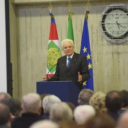 Mattarella a Brenna  ricorda Francesco Casati (video)  «Figura esemplare»  Rivedi la diretta del convegno
