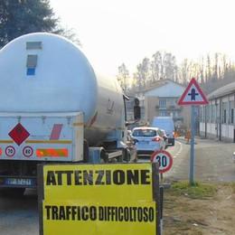 Cantù, ancora caos in Canturina  «Stop da venerdì fino alla Befana»