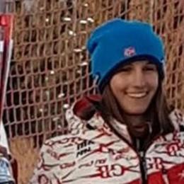 Ghisalberti due volte brava  Sugli sci e a scuola: premiata