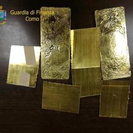 Riciclaggio di soldi e oro Arrestati due comaschi