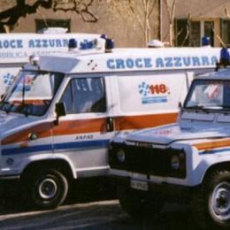 Porlezza: auto fuori strada  Feriti quattro ragazzi
