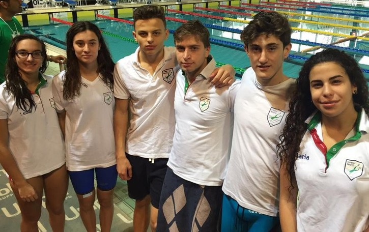 Cappelletti, Fontana e Como Nuoto: medaglie