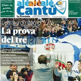 """""""Alé Cantù"""" al palazzetto   Un (e in) omaggio ai tifosi"""