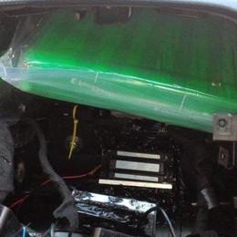 Nell'airbag avevano 3,5 kg di coca  Arrestati a Ronago dalla Finanza