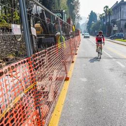 «La pista ciclabile a Cernobbio?  Era da costruire dentro Villa Erba»