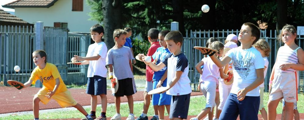 Sport durante le vacanze  con gli EduCamp del Coni
