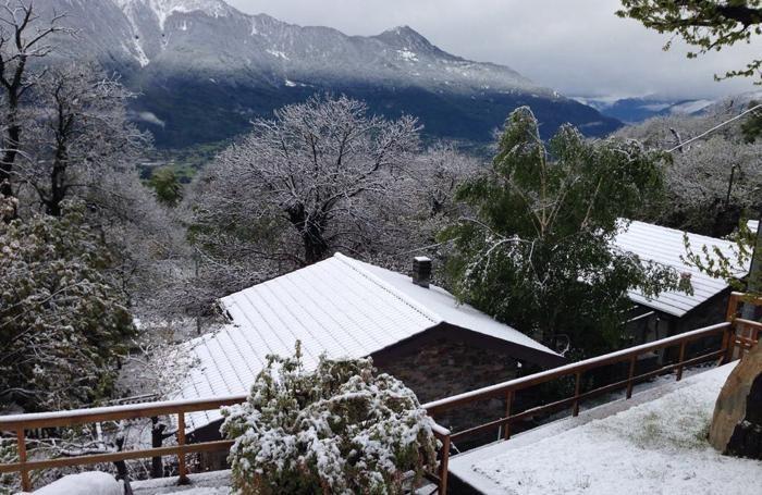 Neve a Bugiallo, sopra Sorico