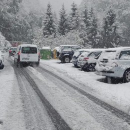 Gradine e neve, poi le schiarite  Incidenti in Valle Intelvi   GUARDA IL VIDEO