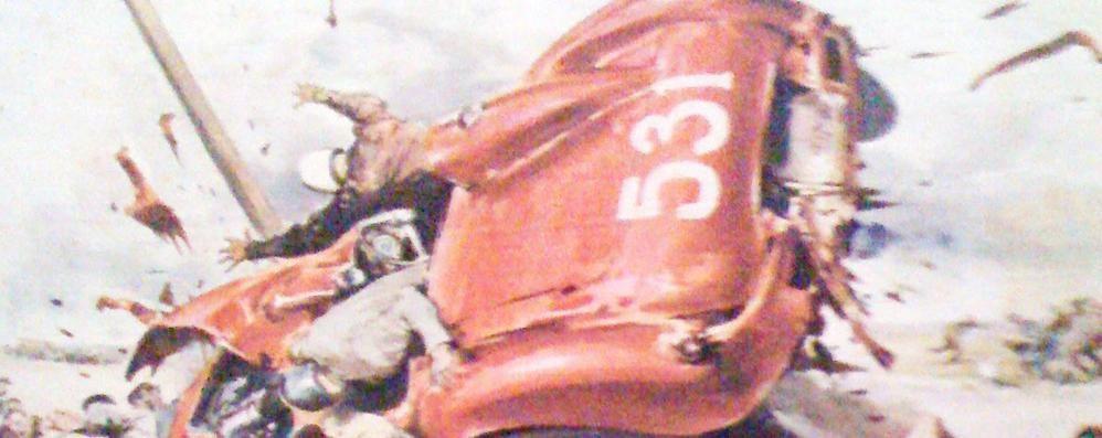 La tragedia del 1957  «Salvo per miracolo   alla Mille Miglia»