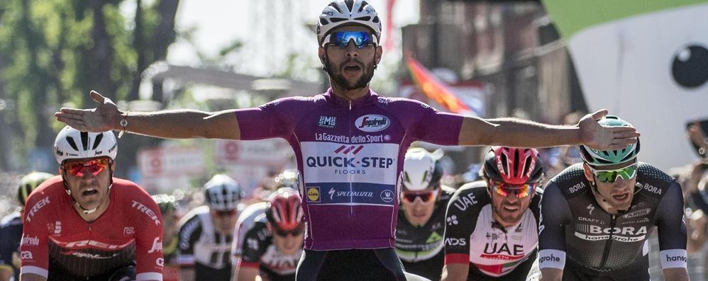 Giro d'Italia, flash comasco  Venti chilometri lariani