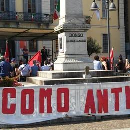L'Anpi ritorna a Dongo  «Una piazza profanata»