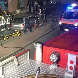 Albiolo, con l'auto fuoristrada (video)  Grave un uomo di 34 anni