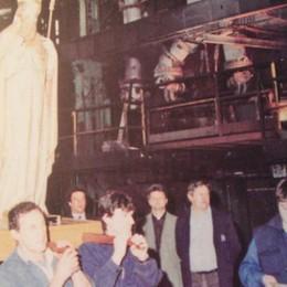 Festa per il protettore della ferriera  «San Gottardo salva i posti di lavoro»