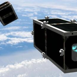 Il business dei rifiuti spaziali  Satellite comasco in prima fila
